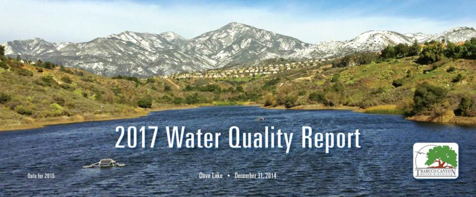 TCWD Water Quality Report - 2017 img